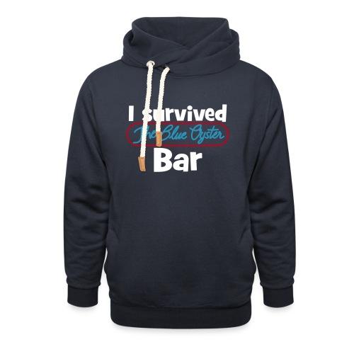 I survived the Blue Oyster Bar - Unisex Schalkragen Hoodie