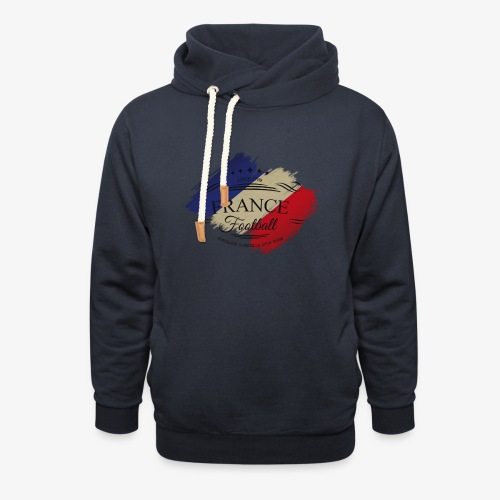 France Football - Schalkragen Hoodie