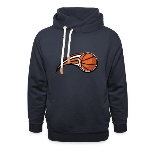 Basketball - Felpa con colletto alto unisex