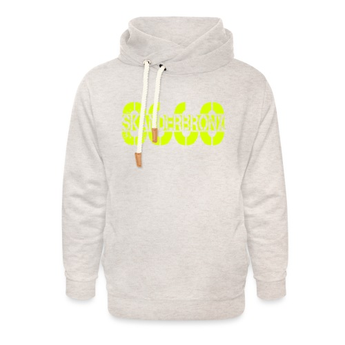 SKANDERBRONX - Unisex hoodie med sjalskrave