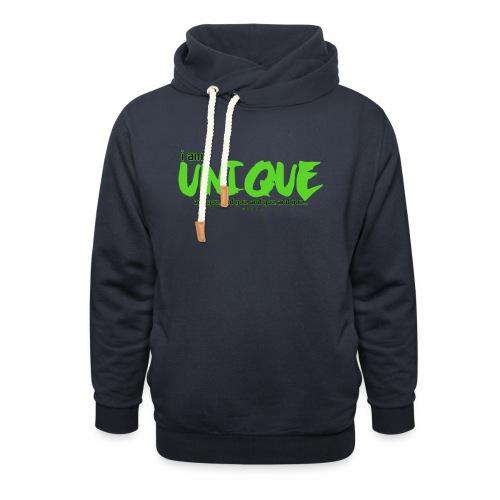 Unique - Sjaalkraag hoodie