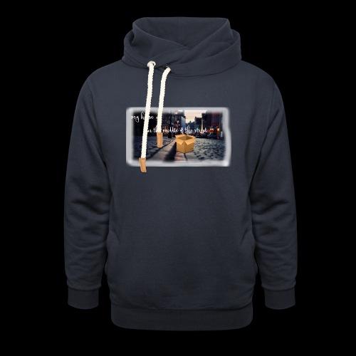 HOUSE SERIES - Unisex sjaalkraag hoodie