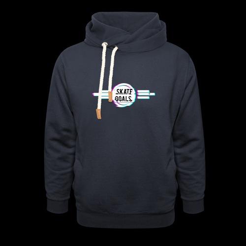 GLITCH SERIES - Unisex sjaalkraag hoodie