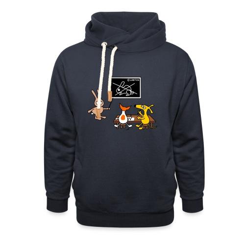 Hundeschule - Schalkragen Hoodie