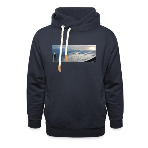 Flugzeug Himmel Wolken Australien - 2. Motiv - Schalkragen Hoodie