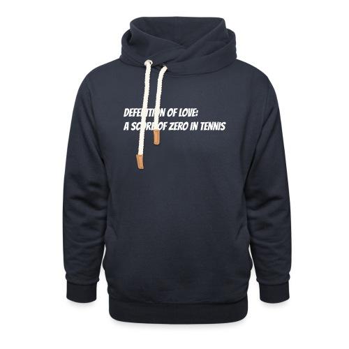 Tennis Love sweater woman - Unisex sjaalkraag hoodie