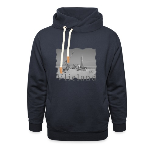 VLIELAND #1 - Unisex Schalkragen Hoodie