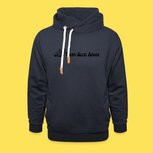 Logo - Felpa con colletto alto
