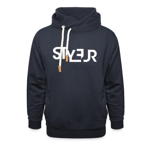 styleur logo spreadhsirt - Schalkragen Hoodie