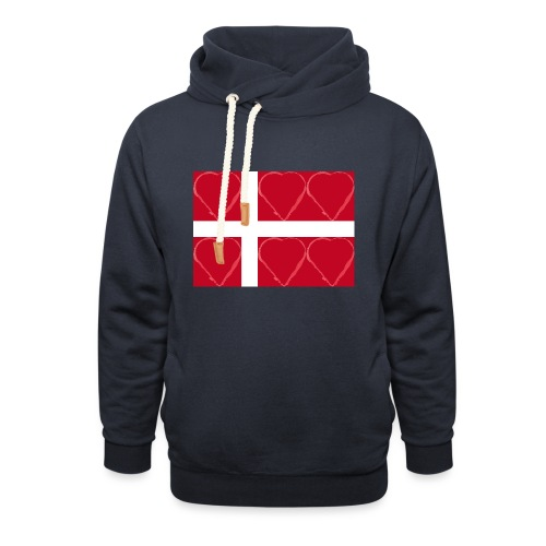 Dänemark 21.2 - Unisex Schalkragen Hoodie