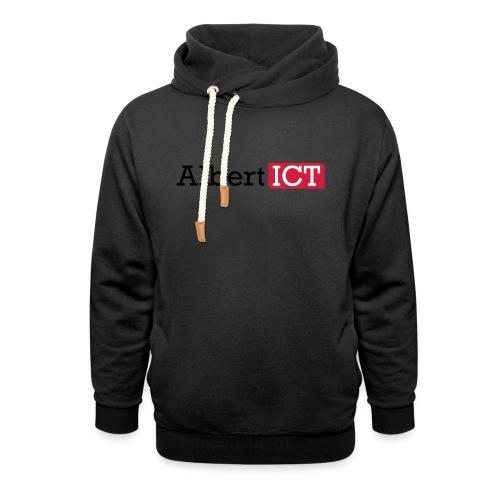 AlbertICT logo full-color - Sjaalkraag hoodie