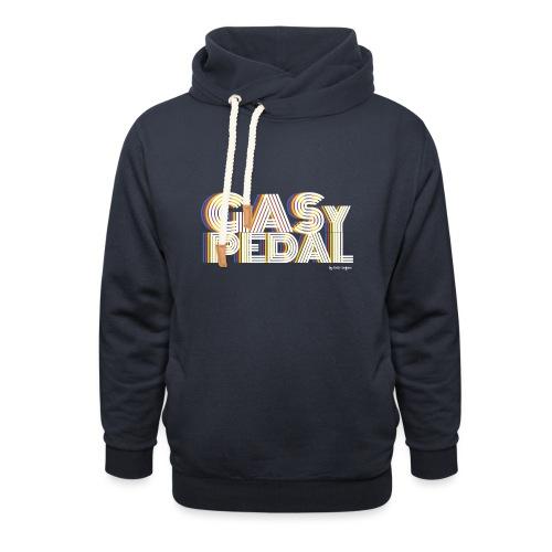 GAS Y PEDAL - Sudadera con capucha y cuello alto unisex
