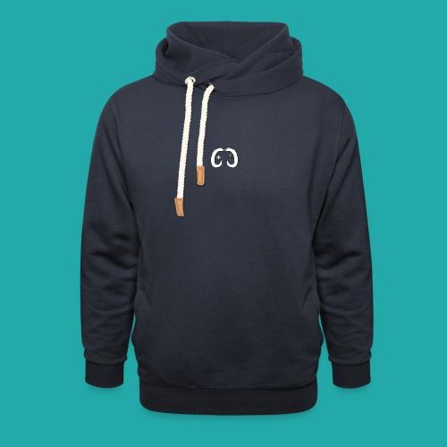 Crowd Control Logo - Unisex Shawl Collar Hoodie