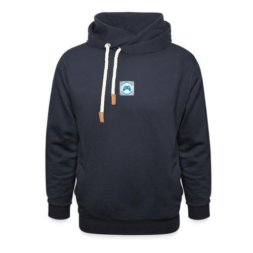 mijn logo - Sjaalkraag hoodie