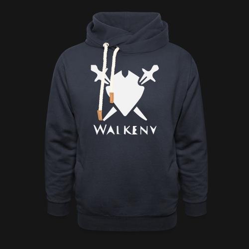 Walkeny Schwert Logo! - Schalkragen Hoodie