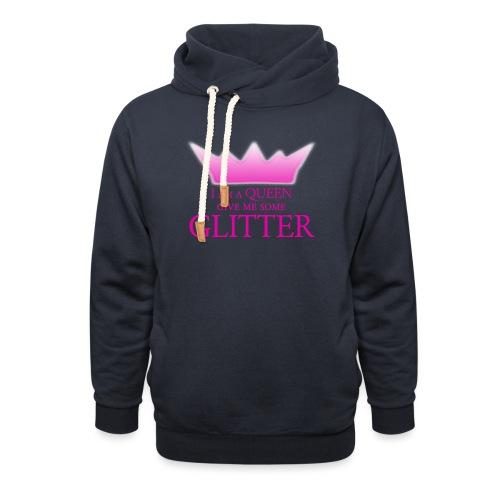 Glitter Queen - Schalkragen Hoodie