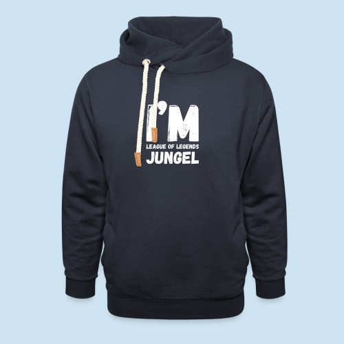I'm Jungel Main - Unisex hettegenser med sjalkrage