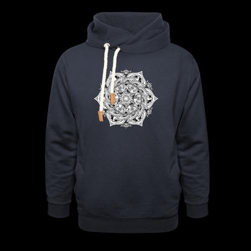 Mandala - Felpa con colletto alto