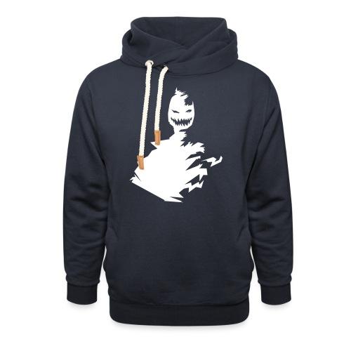 t shirt monster (black/schwarz) - Schalkragen Hoodie