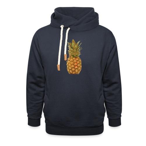 Ananas large - Sweat à capuche cache-cou unisexe
