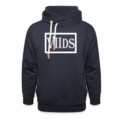 Viids logo - Bluza z szalowym kołnierzem