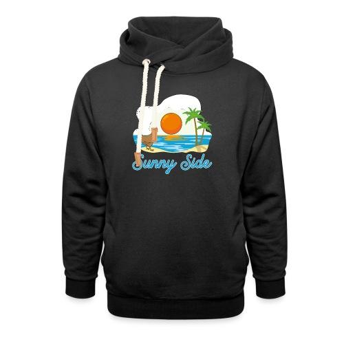 Sunny side - Felpa con colletto alto