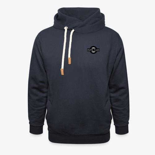 Peppie Plays Logo - Unisex sjaalkraag hoodie