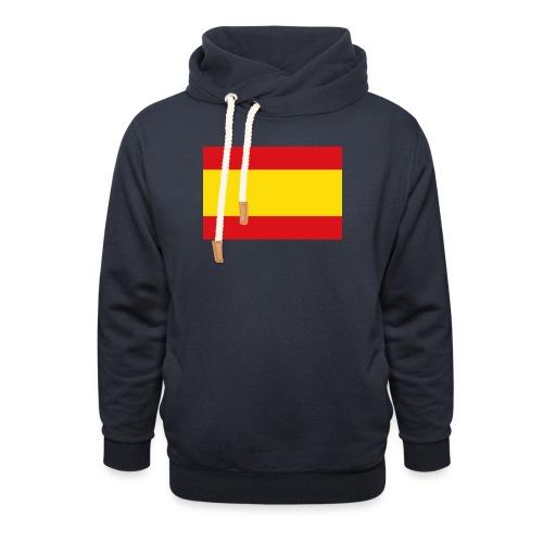 vlag van spanje - Sjaalkraag hoodie