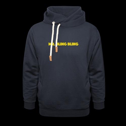 bling bling - Schalkragen Hoodie