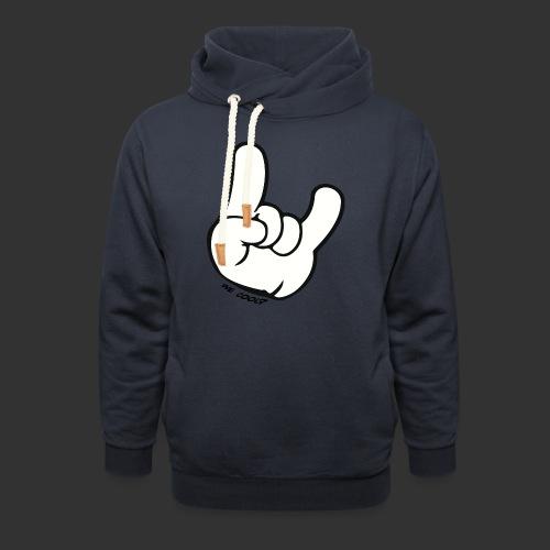 we cool - Sjaalkraag hoodie