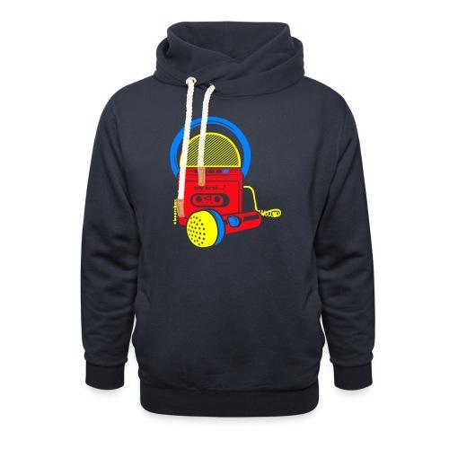 My first Boombox - Sjaalkraag hoodie