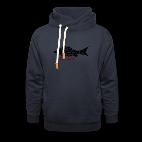 Dogfox Fisch - Schalkragen Hoodie