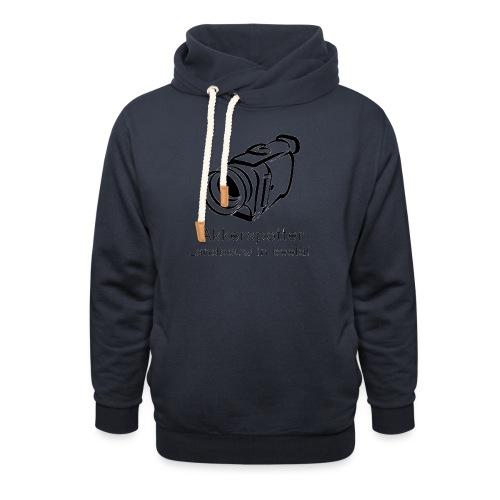 Logo akkerspotter - Sjaalkraag hoodie