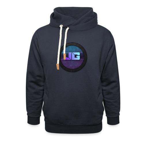 Pet met Logo - Sjaalkraag hoodie