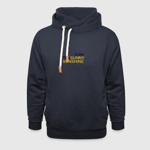 Sunny Sunshine... - Unisex sjaalkraag hoodie
