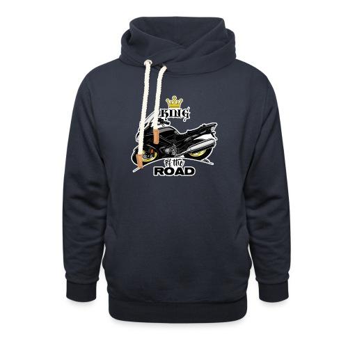 0886 FJR ULTIMATE - Unisex sjaalkraag hoodie