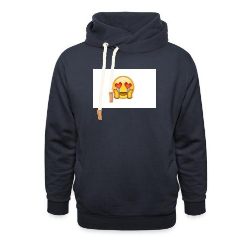 Emoij Hoesje - Unisex sjaalkraag hoodie