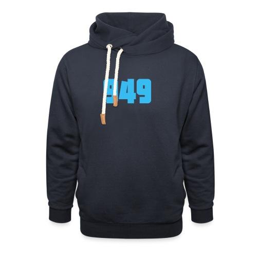 949blue - Unisex Schalkragen Hoodie