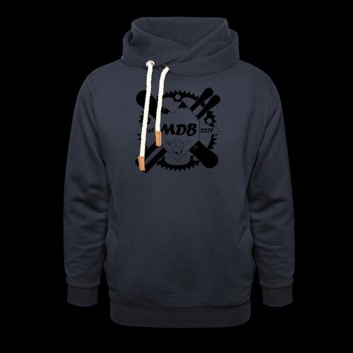Madabe Logo Shirt - Schalkragen Hoodie