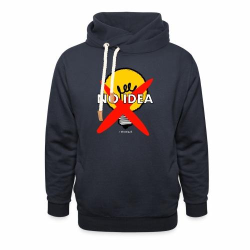 No Idea - Sjaalkraag hoodie