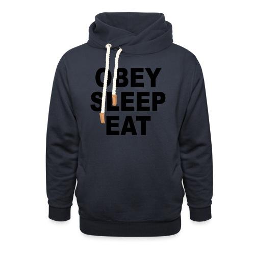 obey sleep - Sweat à capuche cache-cou
