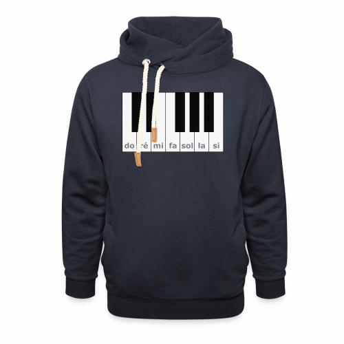 Do Ré Mi Piano - Shawl Collar Hoodie