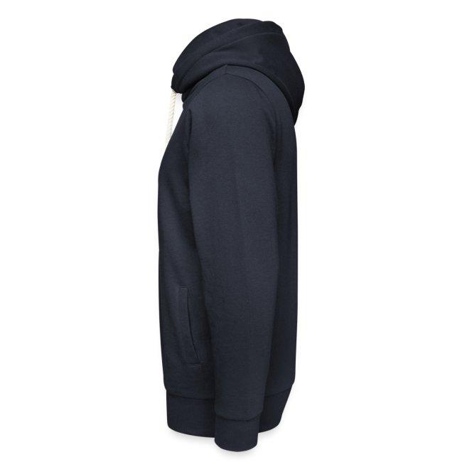 Vorschau: Dein Hufschlag - Unisex Schalkragen Hoodie