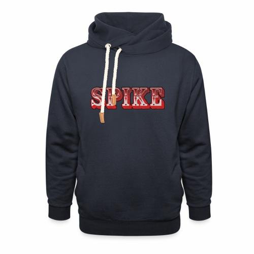 Spike Design 1 - Felpa con colletto alto