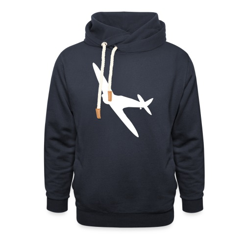 Spitfire Silhouette - Shawl Collar Hoodie