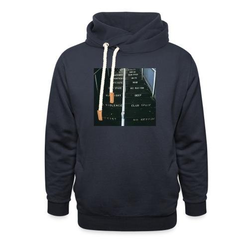 lawsoftechno - Sjaalkraag hoodie