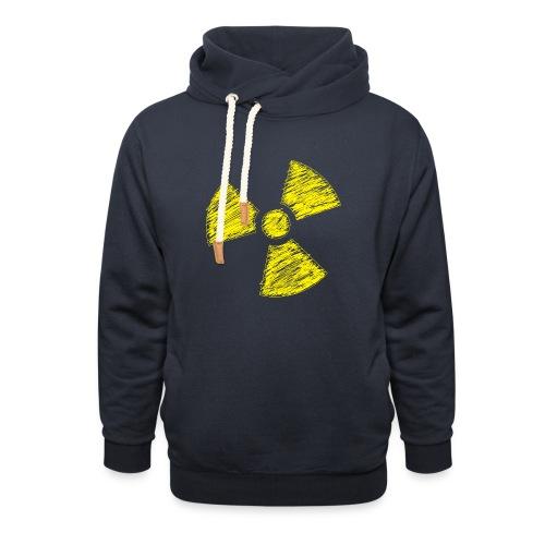 Radioactive - Unisex sjaalkraag hoodie