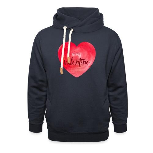 Cœur st.valentin - Sweat à capuche cache-cou