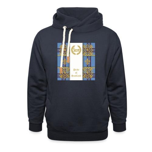 pride of scottland clan - Unisex Schalkragen Hoodie