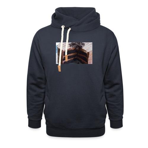 kagen - Unisex hoodie med sjalskrave
